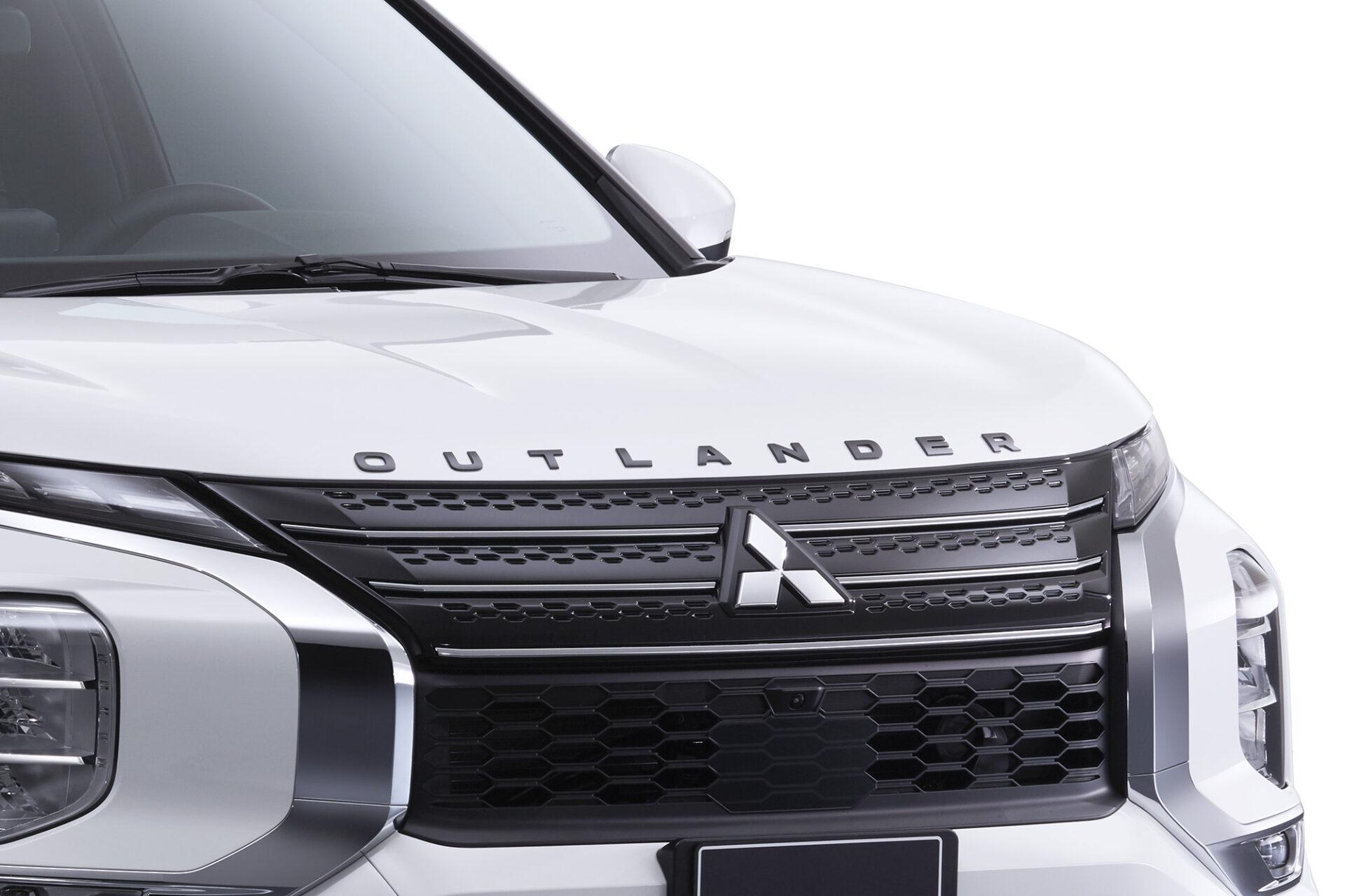 Emblème de capot outlander 2022